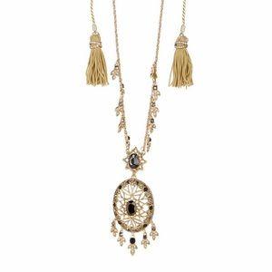 MARCHESA Dream Catcher Crystal Pendant Necklace